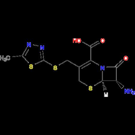 (6R,7R)-7-Amino-3-(((5-methyl-1,3,4-thiadiazol-2-yl)thio)methyl)-8-oxo-5-thia-1-azabicyclo[4.2.0]oct-2-ene-2-carboxylic acid