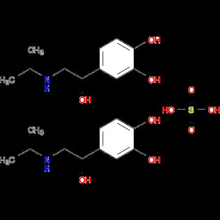 4-(1-Hydroxy-2-(isopropylamino)ethyl)benzene-1,2-diol sulfate(2:1)