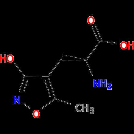 (S)-alpha-Amino-3-hydroxy-5-methyl-4-isoxazolepropionic acid