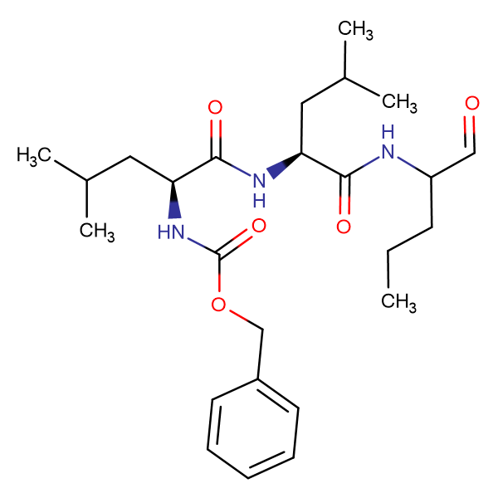 Z-Leu-Leu-Nva-aldehyde