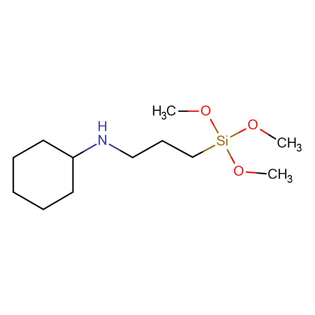 3-(N-Cyclohexylamino)propyltrimethoxysilane