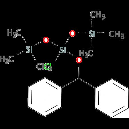 Benzhydryloxybis(trimethylsiloxy)chlorosilane