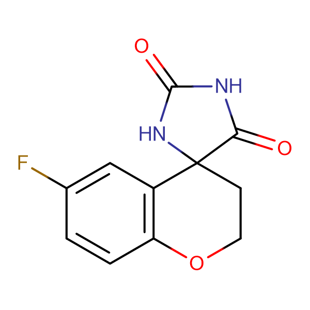 6-Fluoro-4-chromanone hydantoin