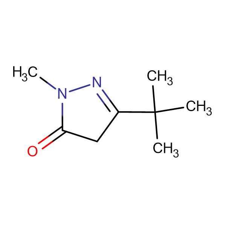 3-tert-Butyl-1-methyl-2-pyrazolin-5-one
