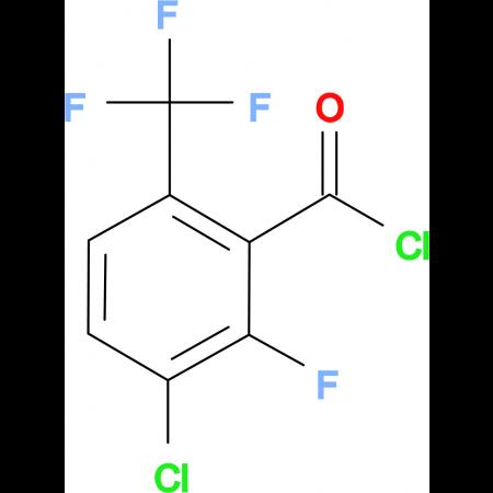3-Chloro-2-fluoro-6-(trifluoromethyl)benzoylchloride