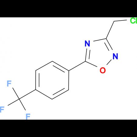3-(Chloromethyl)-5-[4-(trifluoromethyl)phenyl]-1,2,4-oxadiazole