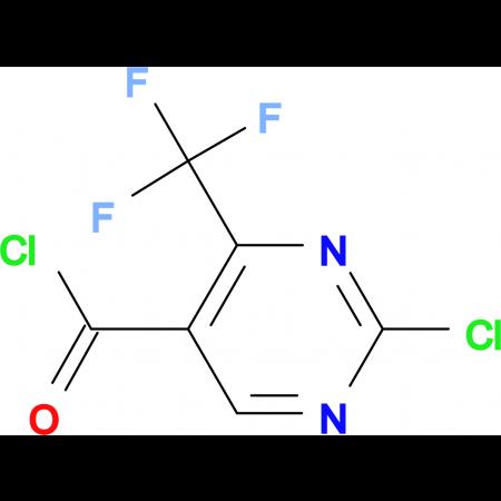 2-Chloro-4-(trifluoromethyl)pyrimidine-5-carbonyl chloride