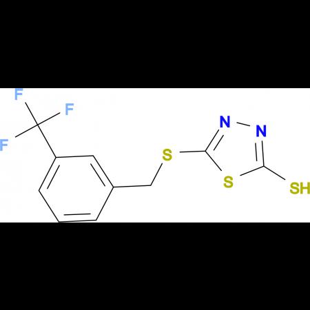 5-[3-(Trifluoromethyl)benzylthio]-1,3,4-thiadiazole-2-thiol