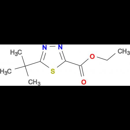 5-tert-Butyl-1,3,4-thiadiazole-2-carboxylic acidethyl ester