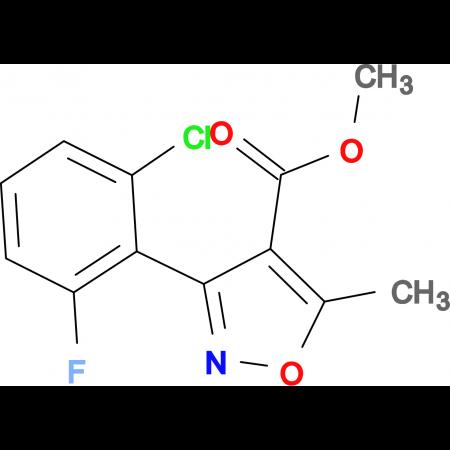 Methyl 3-(2-chloro-6-fluorophenyl)-5-methyl-4-isoxazolecarboxylate