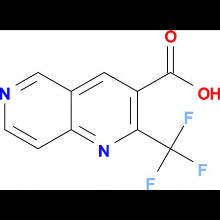 2-(Trifluoromethyl)-1,6-napthyridine-3-carboxylic acid