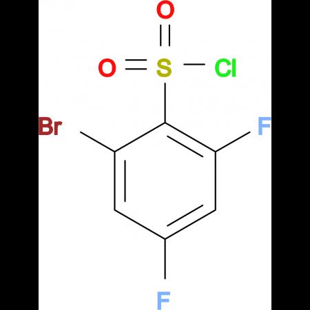 2-Bromo-4,6-difluorobenzenesulphonyl chloride