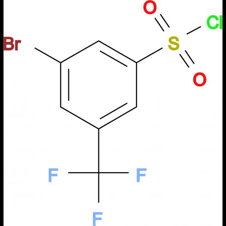 3-Bromo-5-(trifluoromethyl)benzenesulfonyl chloride