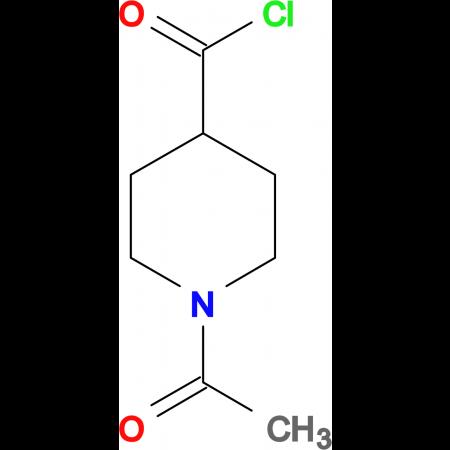1-Acetylisonipecotoyl chloride