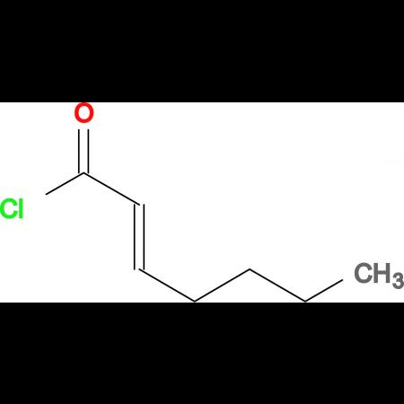 (E)-Hept-2-enoyl chloride