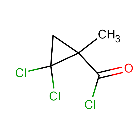 2,2-Dichloro-1-methyl-cyclopropanecarbonyl chloride