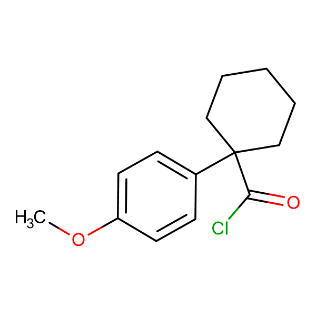 1-(4-Methoxyphenyl)cyclohexanecarbonyl chloride