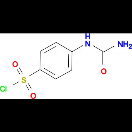 4-Ureido-benzenesulfonyl chloride