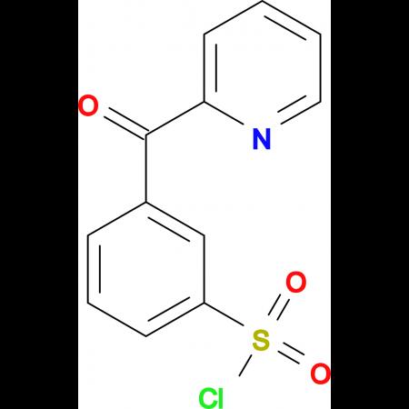 3-(Pyridine-2-carbonyl)benzenesulfonyl chloride