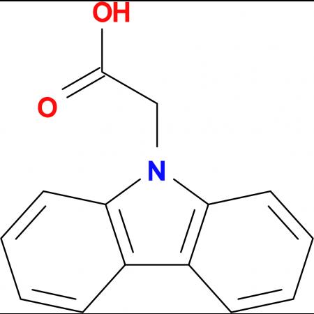 Carbazol-9-ylacetic acid