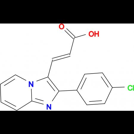 3-[2-(4-Chloro-phenyl)-imidazo[1,2-a]pyridin-3-yl]acrylic acid