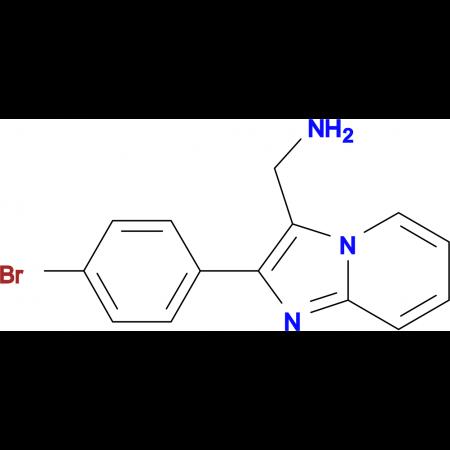 C-[2-(4-Bromo-phenyl)-imidazo[1,2-a]pyridin-3-yl]-methylamine oxalate