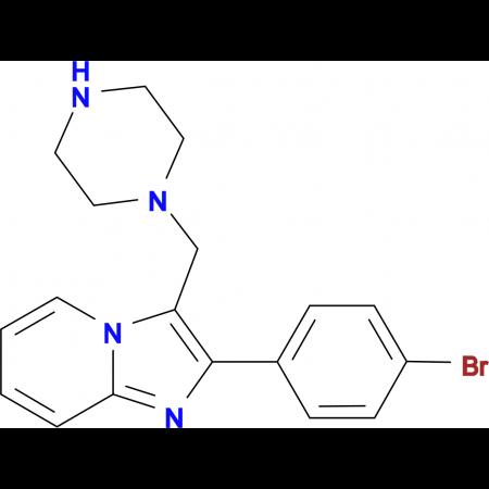 2-(4-Bromo-phenyl)-3-piperazin-1-ylmethyl-imidazo[1,2-a]pyridine