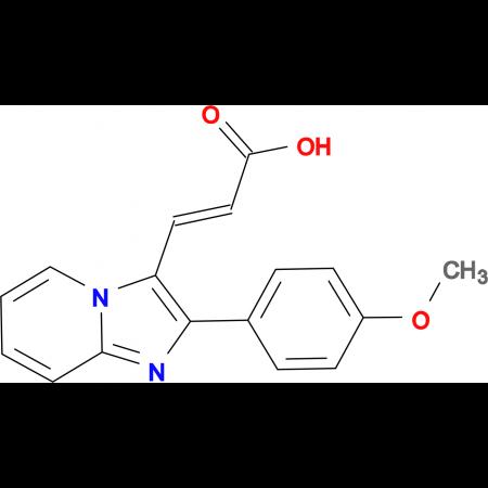 3-[2-(4-Methoxy-phenyl)-imidazo[1,2-a]pyridin-3-yl]-acrylic acid