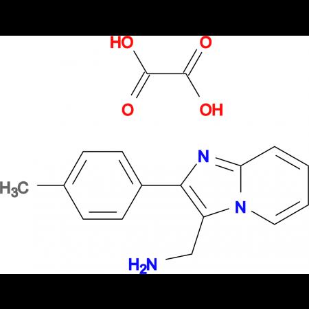 C-(2-p-Tolyl-imidazo[1,2-a]pyridin-3-yl)-methylamine oxalic acid salt