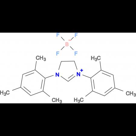 1,3-Bis-(2,4,6-trimethyl-phenyl)-4,5-dihydro-3H-imidazol-1-ium tetrafluoro borate