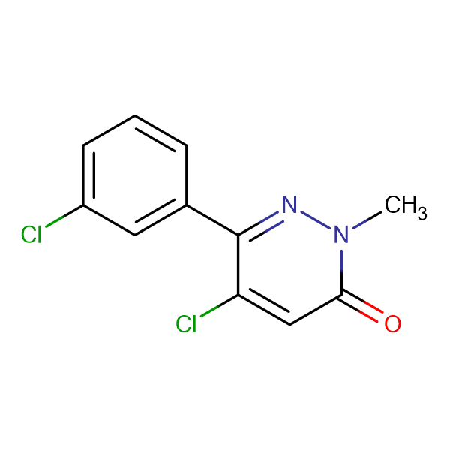5-Chloro-6-(3-chlorophenyl)-2-methylpyridazin-3(2H)-one
