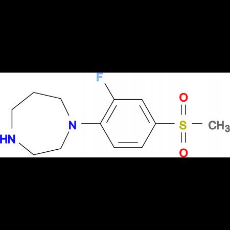 1-[2-Fluoro-4-(methylsulfonyl)phenyl]-1,4-diazepane