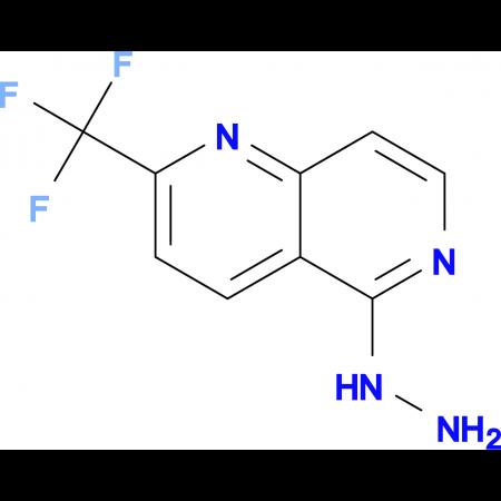 5-Hydrazino-2-(trifluoromethyl)-1,6-naphthyridine