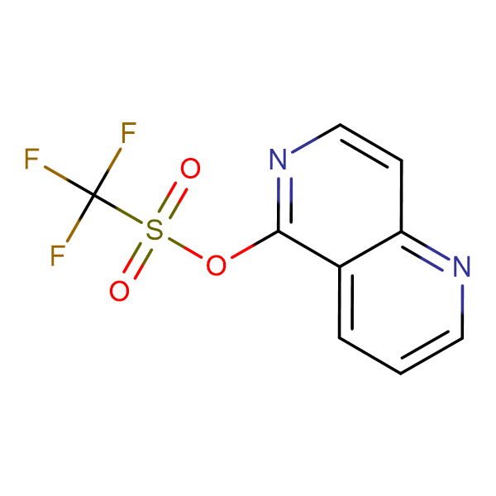 1,6-Naphthyridin-5-yl trifluoromethanesulfonate