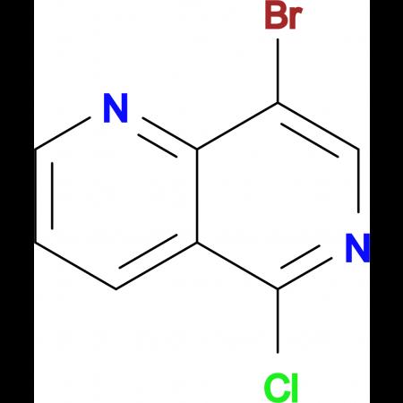 8-Bromo-5-chloro-1,6-naphthyridine