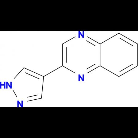 2-(1H-Pyrazol-4-yl)quinoxaline
