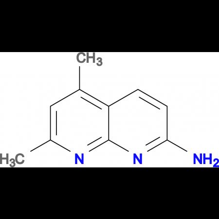 5,7-Dimethyl[1,8]naphthyridin-2-amine