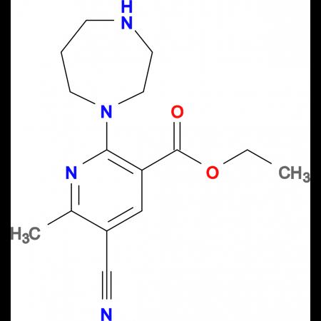 Ethyl 5-cyano-6-methyl-2-homopiperazinonicotinate