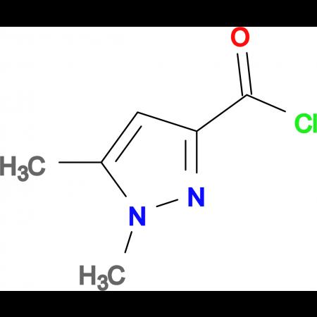 1,5-Dimethyl-1H-pyrazole-3-carbonyl chloride
