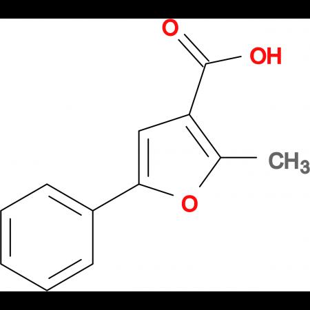 2-Methyl-5-phenyl-3-furoic acid