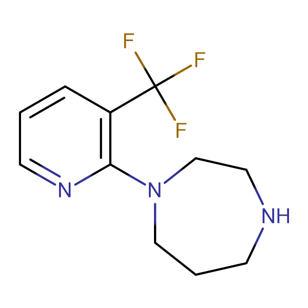 1-[3-(Trifluoromethyl)pyrid-2-yl]-1,4-diazepane