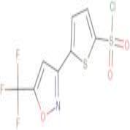 5-[5-(Trifluoromethyl)isoxazol-3-yl]thiophene-2-sulfonyl choride