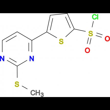 5-[2-(Methylthio)pyrimidin-4-yl]thiophene-2-sulfonyl chloride