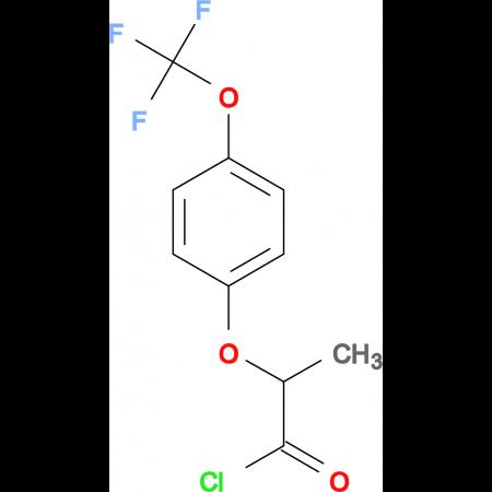 2-[4-(Trifluoromethoxy)phenoxy]propionyl chloride