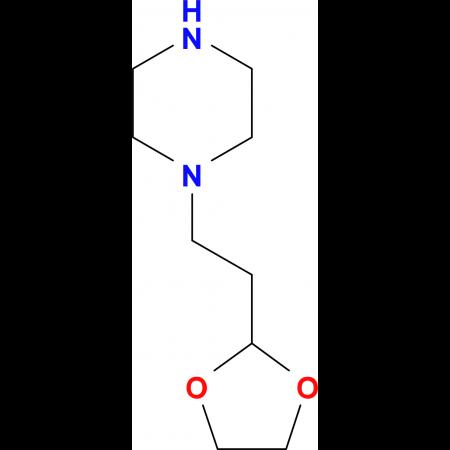 2-[2-(Piperazin-1-yl)-ethyl]-1,3-dioxolan