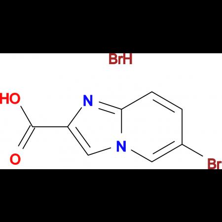 6-Bromo-imidazo[1,2-a]pyridine-2-carboxylic acid hydrobromide