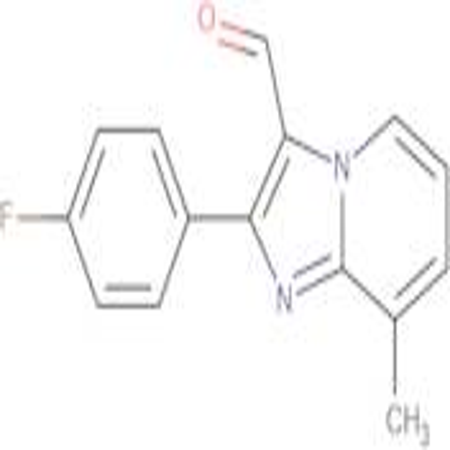 2-(4-Fluoro-phenyl)-8-methyl-imidazo[1,2-a]-pyridine-3-carbaldehyde