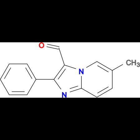 6-Methyl-2-phenyl-imidazo[1,2-a]pyridine-3-carbaldehyde