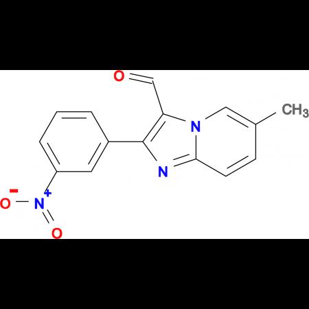 6-Methyl-2-(3-nitropyridinephenyl)imidazo[1,2-a]--3-carbaldehyde