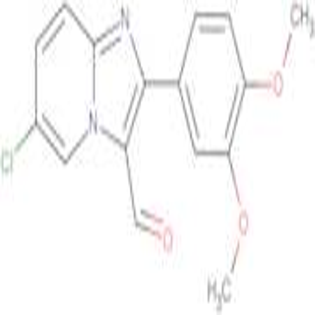 6-Chloro-2-(3,4-dimethoxyphenyl)imidazo[1,2-a]pyridine-3-carboxaldehyde